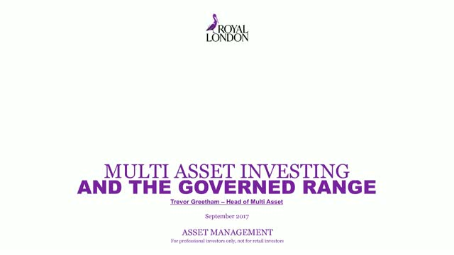Multi asset investing and the Governed Portfolios