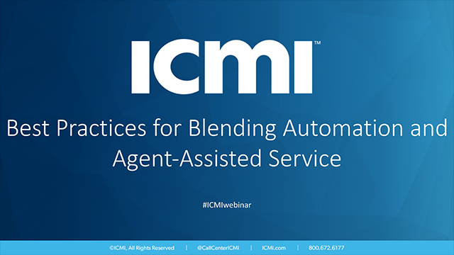 Best Practices for Blending Automation and Agent-Assisted Service