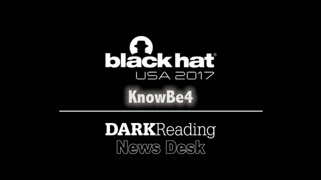 DarkReading Black Hat Interview with Stu Sjouwerman