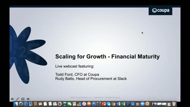 Scaling for Growth- Financial Maturity