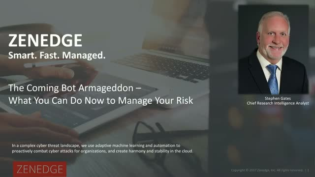 The Coming Bot Armageddon – What You Can Do Now to Manage Your Risk