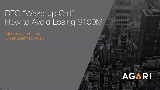 BEC - How to Avoid Losing $100m
