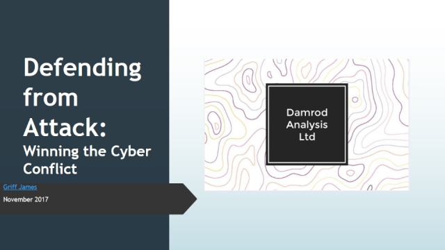 Defending from Attack: Winning the Cyber Conflict