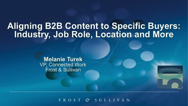 Aligning B2B Content to Specific Buyers: Industry, Job Role, Location & More
