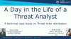 A Day in the Life of a Threat Analyst – A Technical Case Study on Attribution