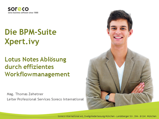 Effizientes Workflowmanagement statt Lotus Notes