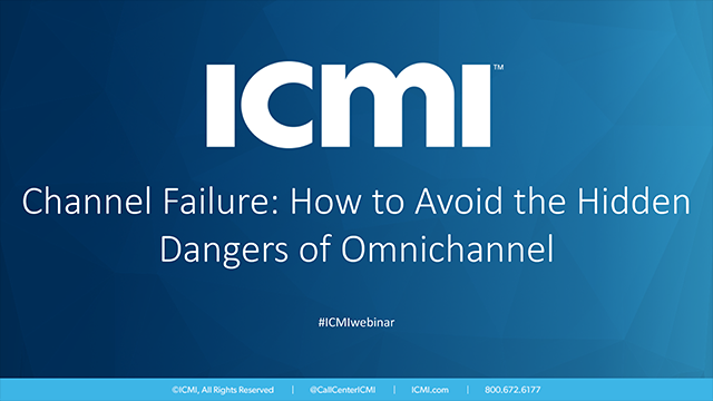 Channel Failure: How to Avoid the Hidden Dangers of Omnichannel