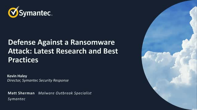Defense Against a Ransomware Attack: Latest Research and Best Practices