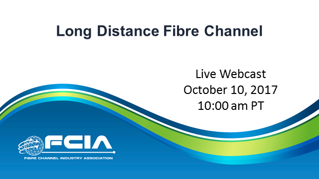 Long-Distance Fibre Channel