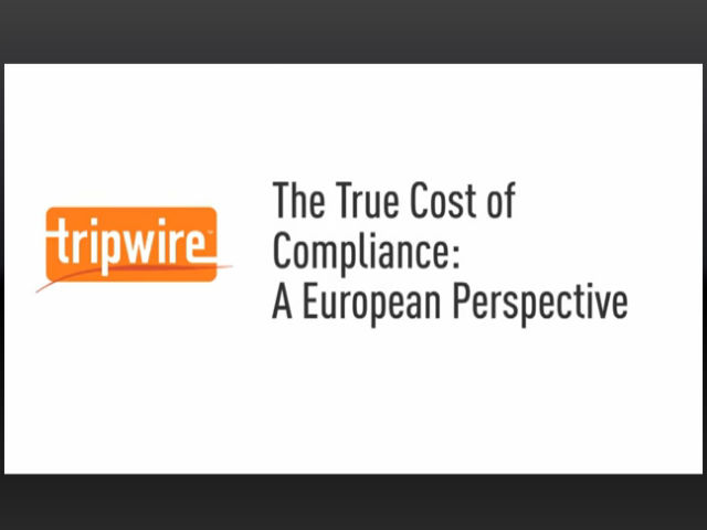The True Cost of Compliance: The European Perspective
