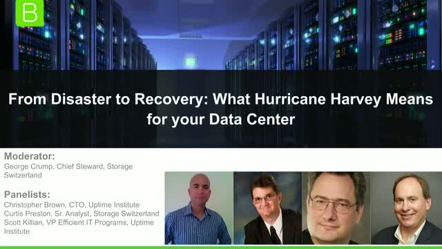 From Disaster to Recovery: What Hurricane Harvey Means for your Data Center