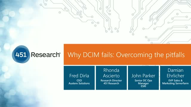 Why DCIM fails: Overcoming the pitfalls