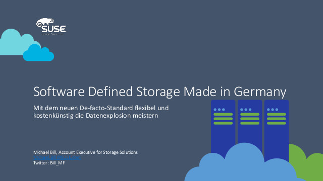 Software Defined Storage made in Germany