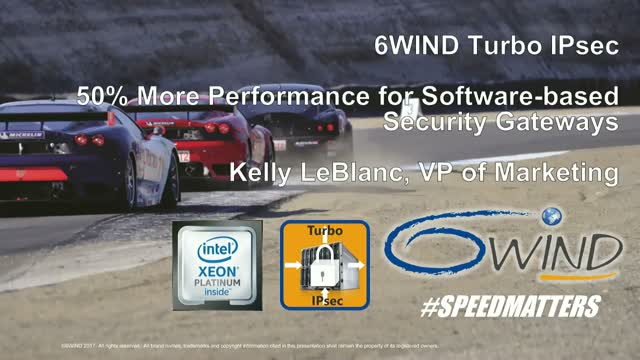 6WIND & Intel Deliver 50%  Performance Increase for SW-based Security Gateways