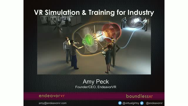 Virtual Reality Simulation & Training for Industry