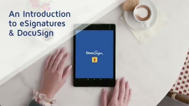 An Introduction to eSignatures and DocuSign