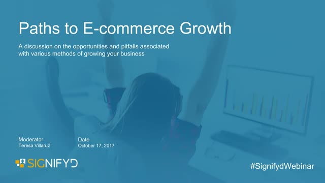The Path to E-commerce Growth
