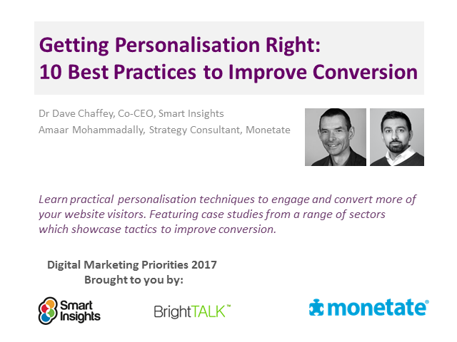 Getting Personalisation Right: 10 Best Practices to Improve Conversion