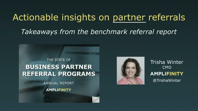 Actionable Insights on Partner Referrals: Takeaways from the benchmark report