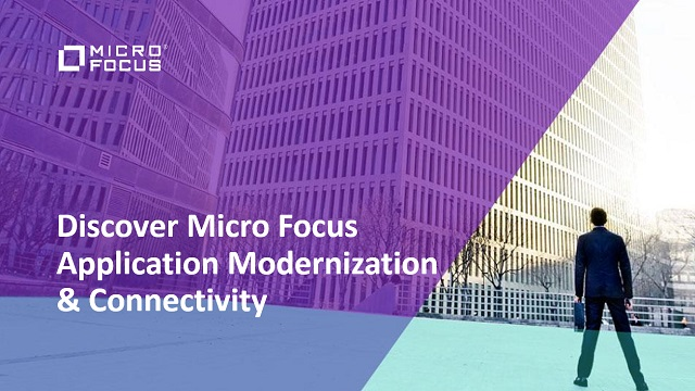 Discover Micro Focus Application Modernization & Connectivity