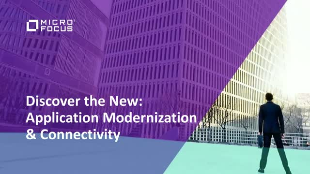 Discover the New: Application Modernization & Connectivity