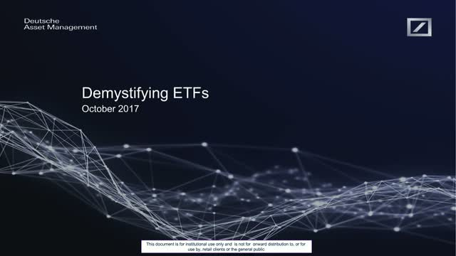 Demystifying ETF trading and liquidity
