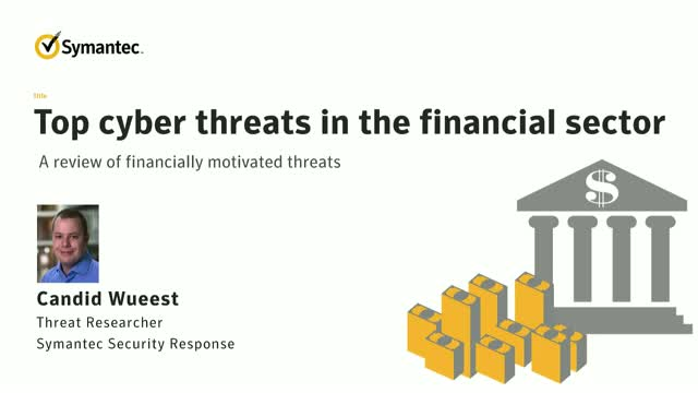 Top cyber threats in the financial sector