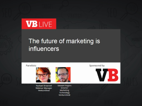 The future of marketing is influencers
