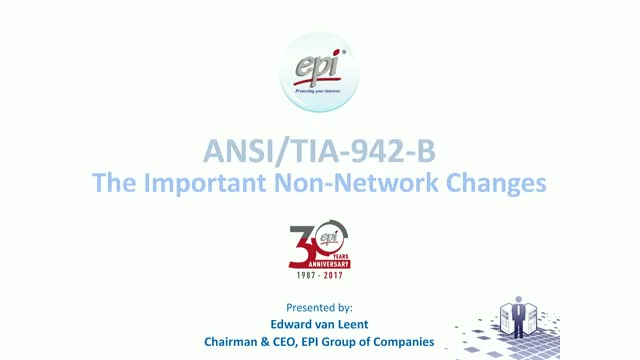 ANSI/TIA-942-B, The Important Non-Network Changes