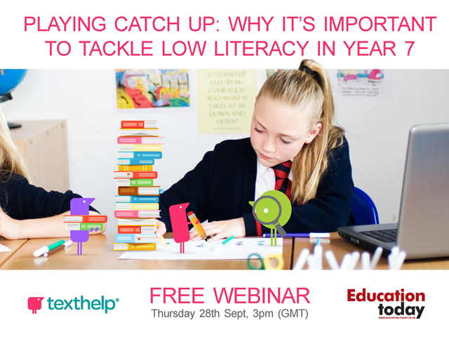 Playing Catch Up: Why it's Important to Tackle Low Literacy in Year 7