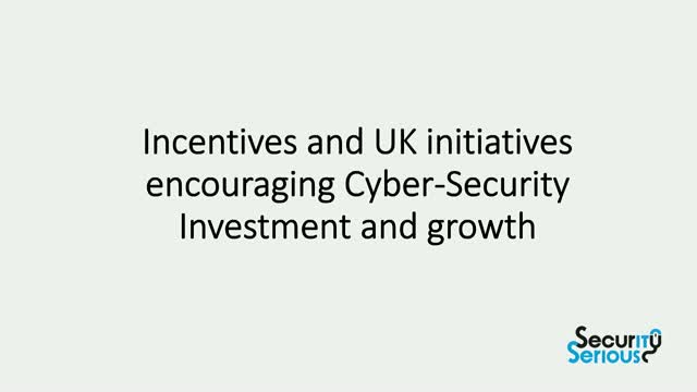 Incentives to make the UK a hub for cyber-security companies