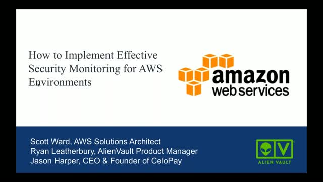 How to Implement Effective Security Monitoring for AWS