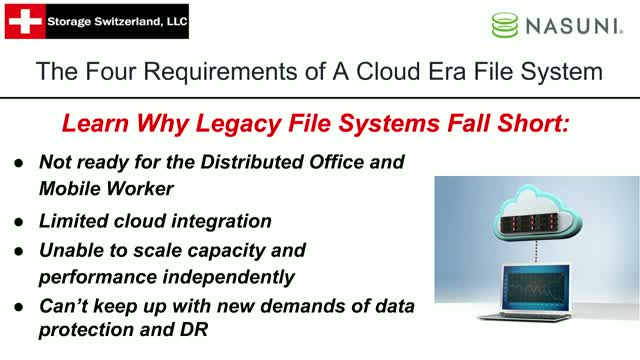 The Four Requirements of a Cloud-Era File System