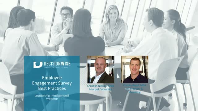 Employee Engagement Survey Best Practices (HRCI & SHRM Credit)
