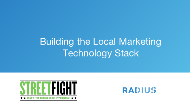 Building the Local Marketing Tech Stack