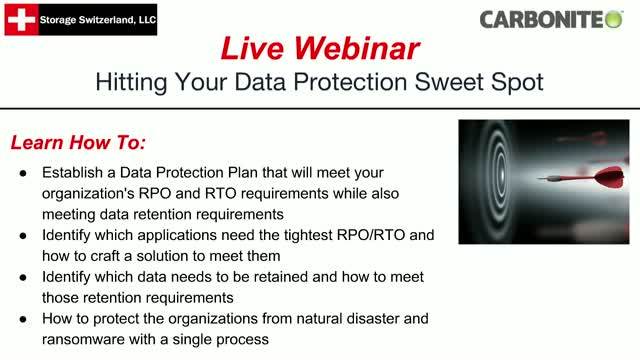 Hitting Your Data Protection Sweet Spot