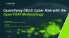 Quantifying DDoS Cyber Risk with the FAIR Methodology
