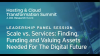 Scale vs. Services: Finding, Funding & Valuing Assets for the Digital Future