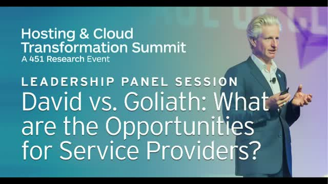 David vs. Goliath: What Are the Opportunities for Service Providers?