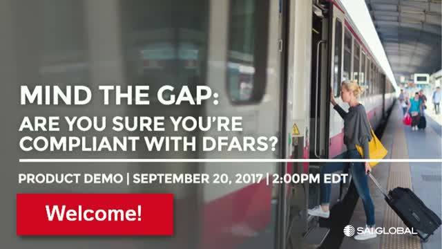 Mind the Gap: Are you sure you're DFARS compliant?