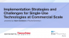 Implementation Strategies and Challenges for SUT at Commercial scale