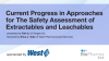 Current Progress in Approaches for The Safety Assessment of E&L