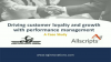 How Performance Management can Drive Growth & Loyalty: An Allscripts Case Study