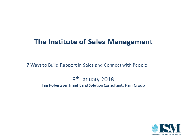 7 Ways to Build Rapport in Sales and Connect with People