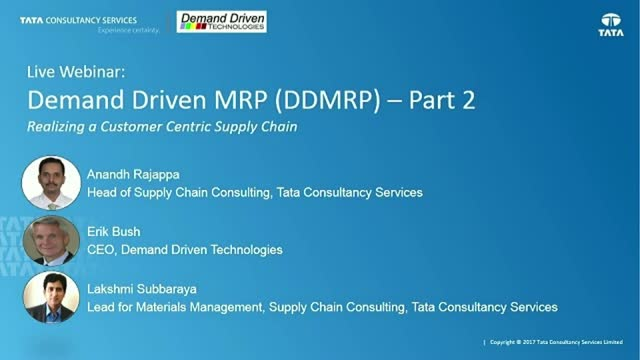 Demand Driven MRP (DDMRP): Part 2