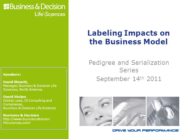 Pedigree & Serialization: Labelling Impacts on the Business Model