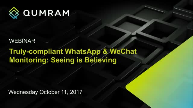 Truly-compliant WhatsApp and WeChat Monitoring: Seeing is Believing
