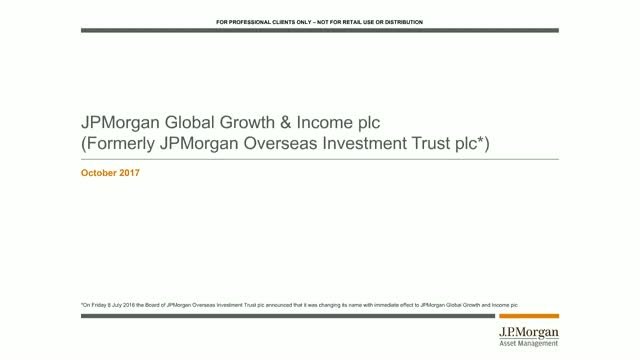 Bitesize 30-minute update: JPMorgan Global Growth & Income plc