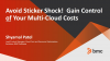Avoid Sticker Shock!  Gain Control of Your Multi-Cloud Costs