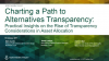 Charting a Path to Alternatives Transparency